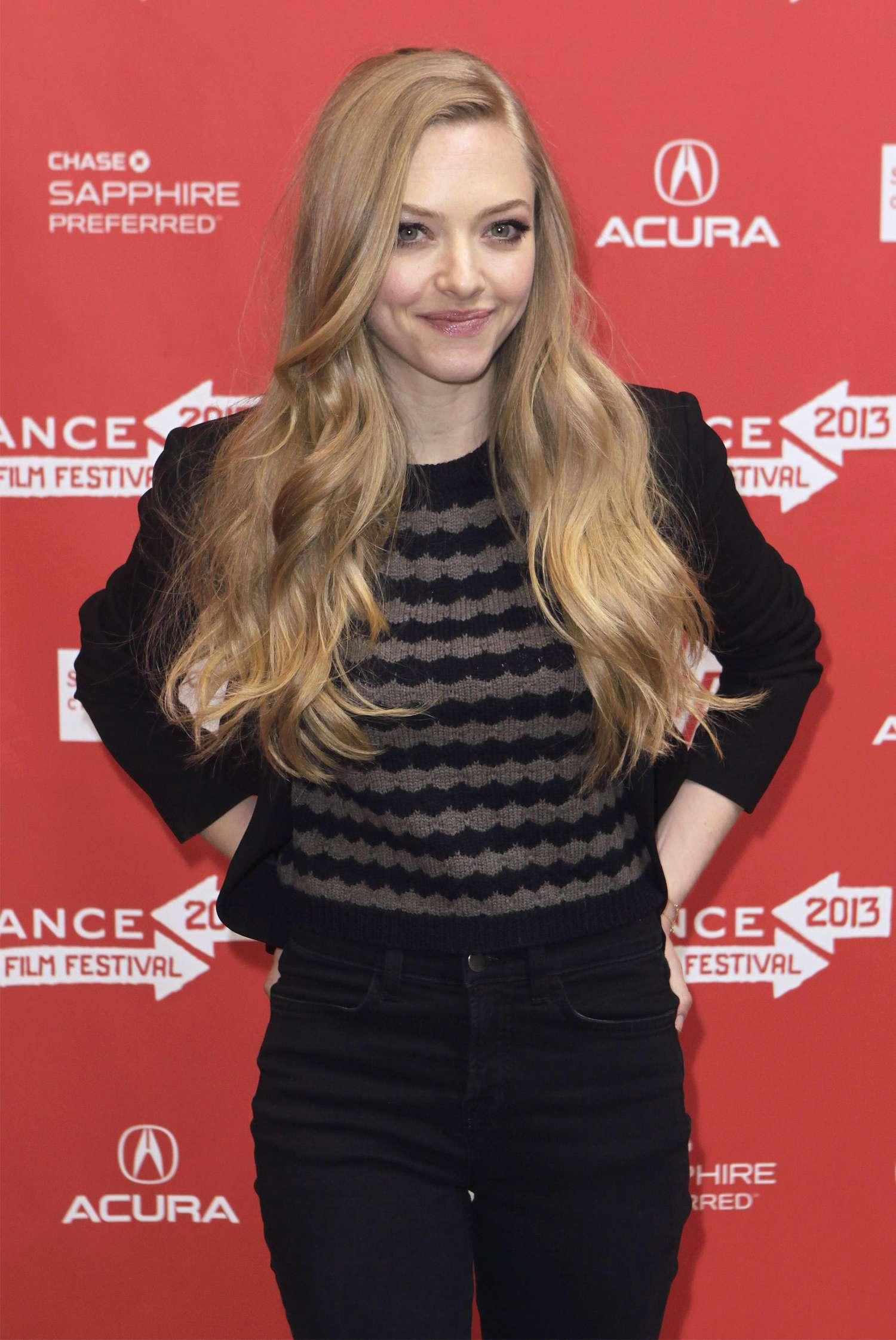Amanda Seyfried at 2013 Sundance Film Festival - Lovelace Premiere
