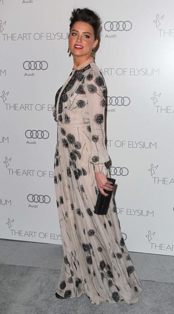Amber Heard - 2013 Art of Elysium's 6th Annual HEAVEN Gala in Los Angeles