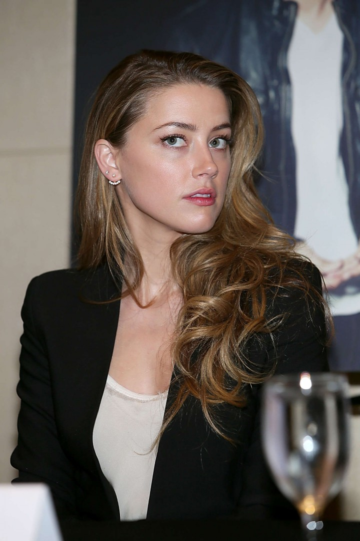 Amber Heard – 2014 Texas Film Awards Press Conference in Austin