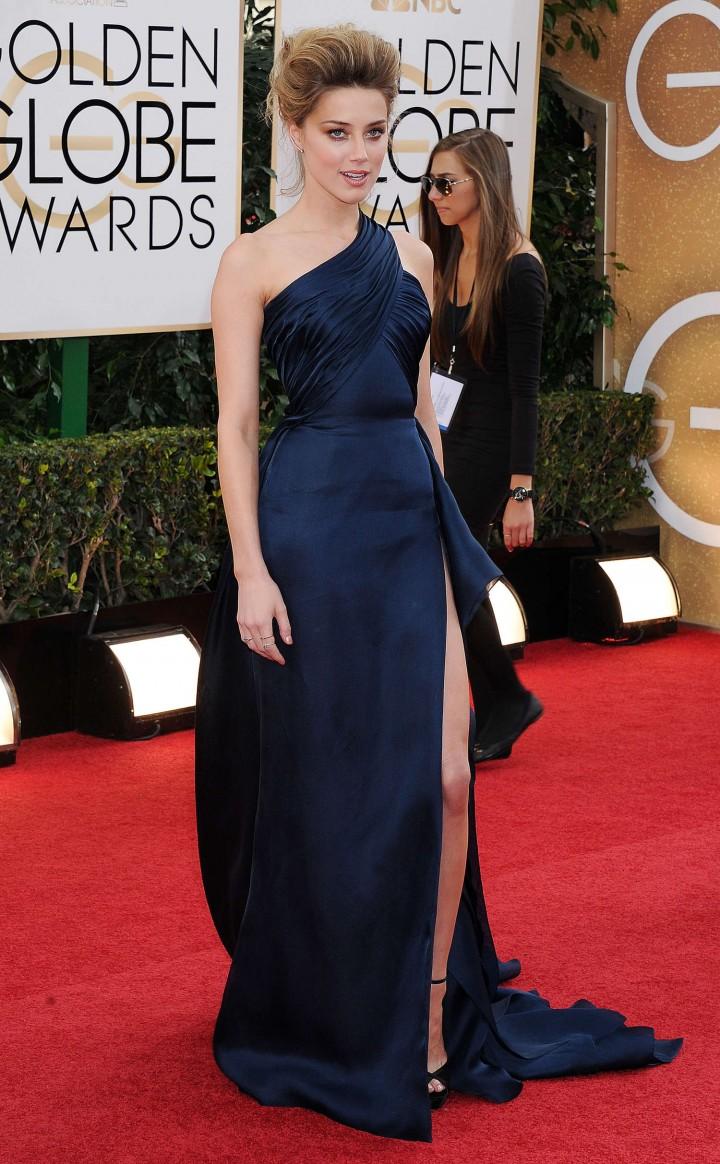 Amber Heard 2014 : Amber Heard: Golden Globe 2014 Awards -04
