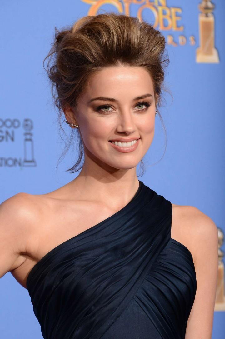 Amber Heard 2014 : Amber Heard: Golden Globe 2014 Awards -05