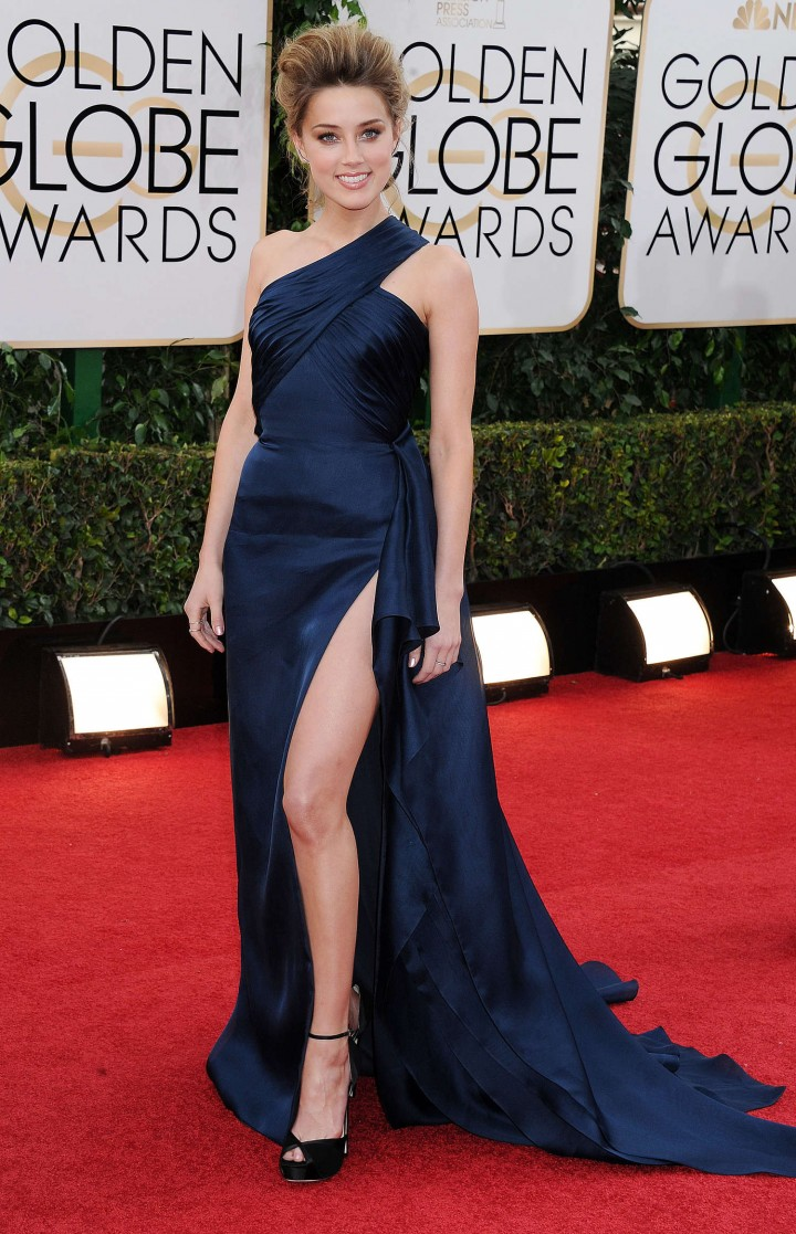 Amber Heard: Golden Globe 2014 Awards -07