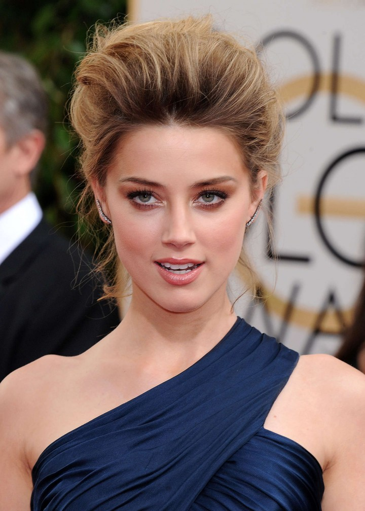 Amber Heard: Golden Globe 2014 Awards -09