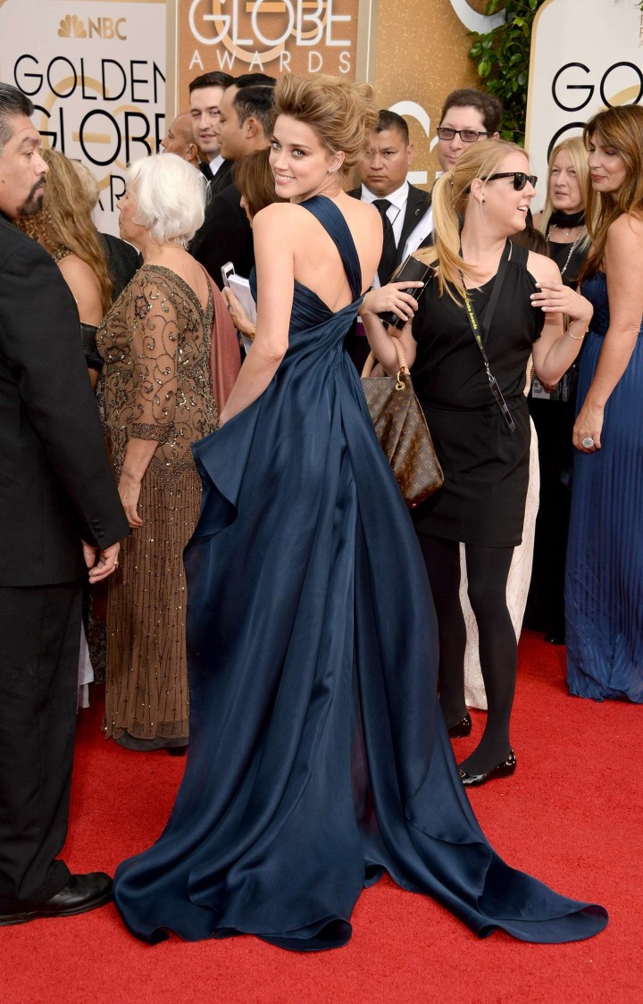 Amber Heard: Golden Globe 2014 Awards -11