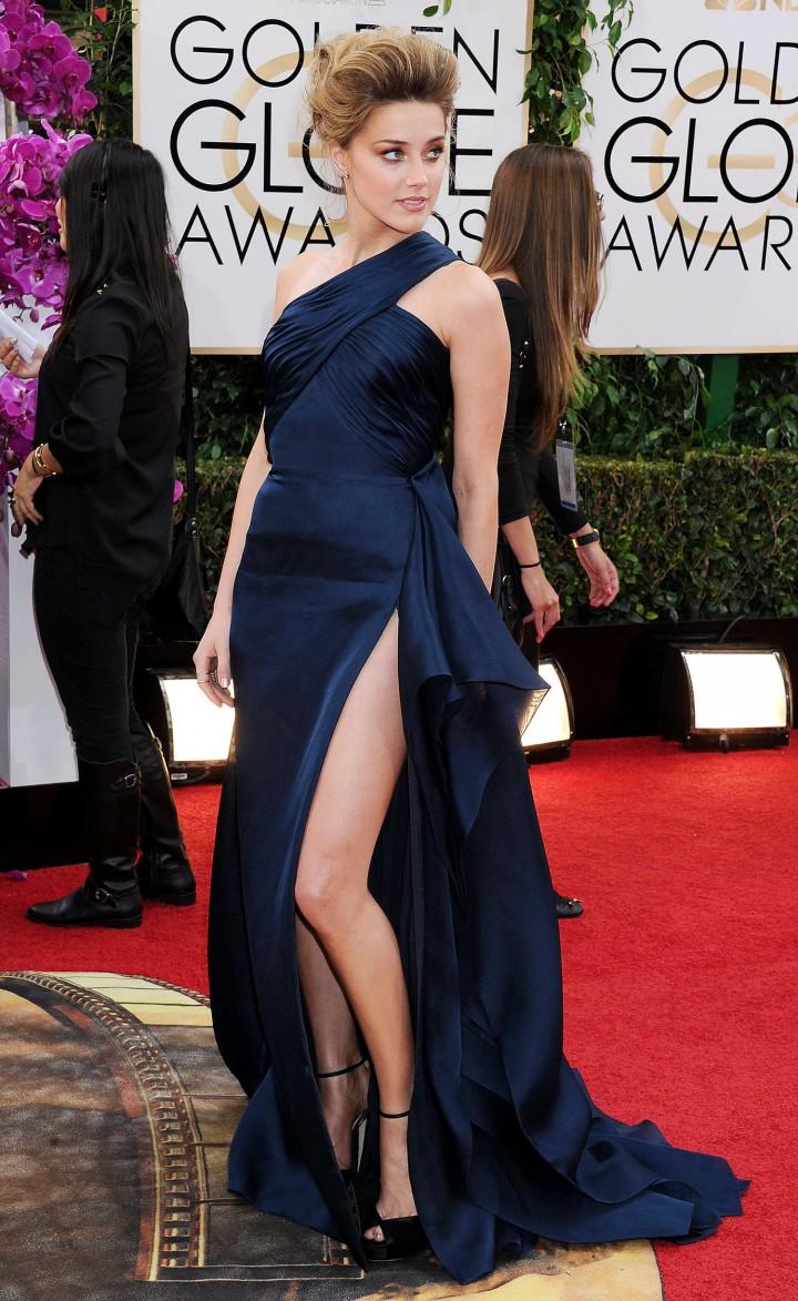 Amber Heard: Golden Globe 2014 Awards -13