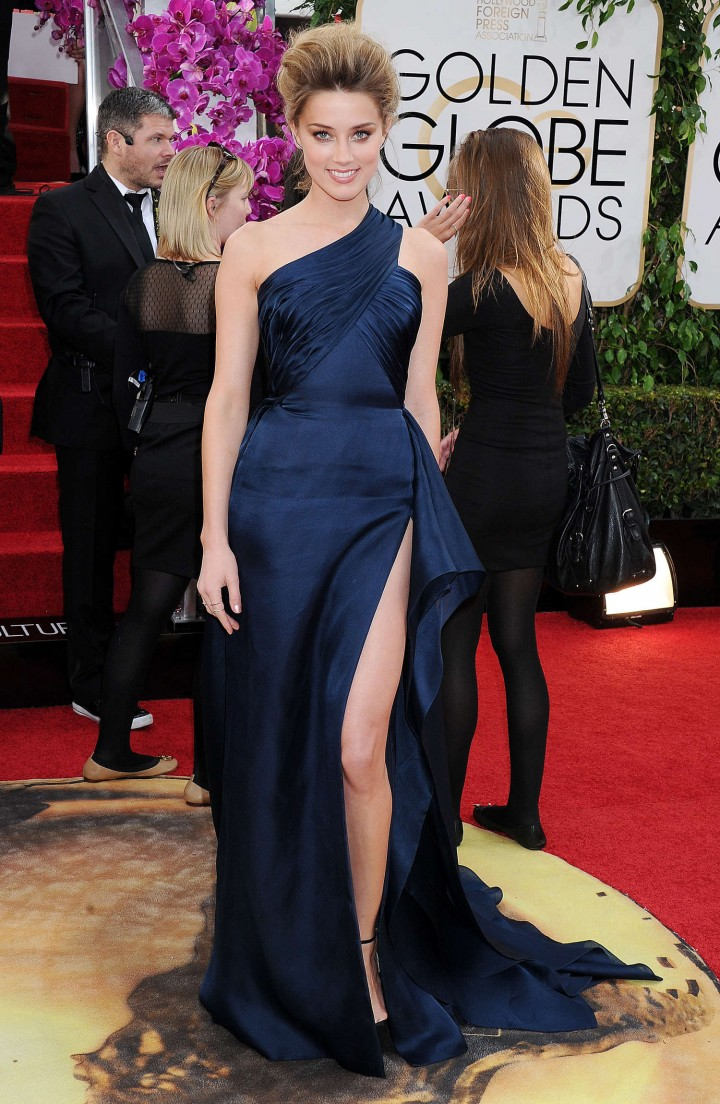 Amber Heard: Golden Globe 2014 Awards -16