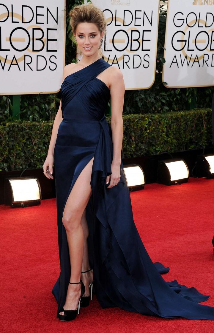 Amber Heard: Golden Globe 2014 Awards -17