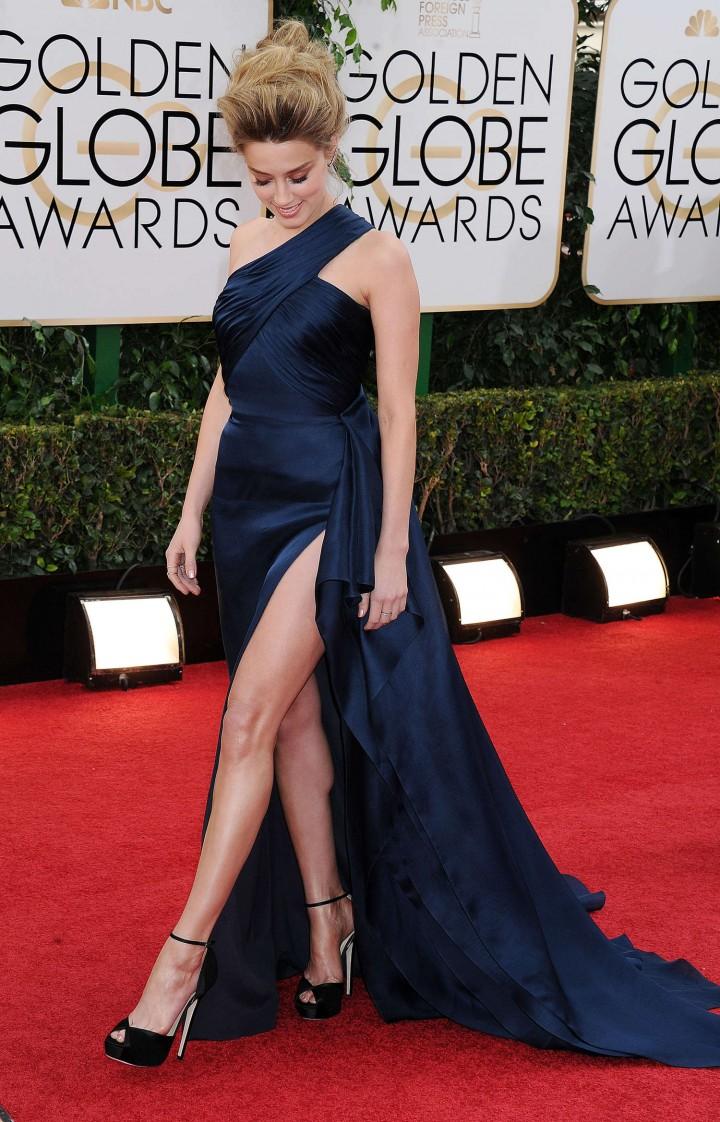 Amber Heard 2014 : Amber Heard: Golden Globe 2014 Awards -19