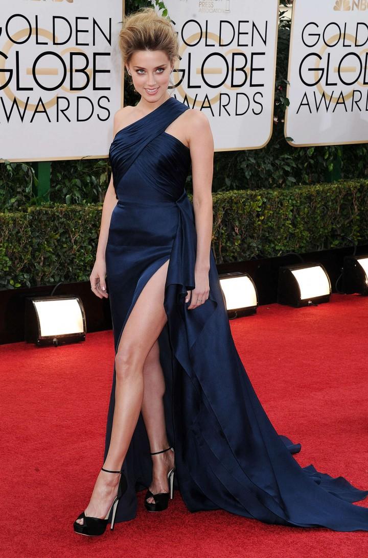 Amber Heard: Golden Globe 2014 Awards -21