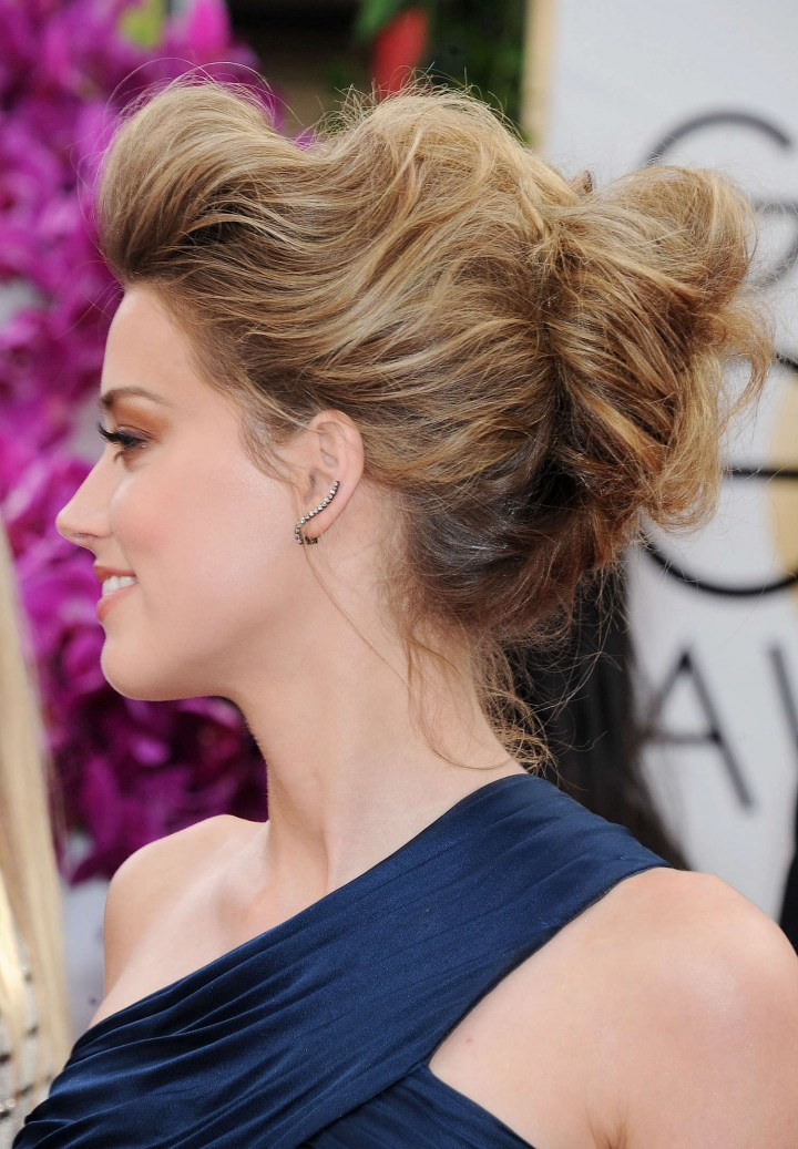 Amber Heard: Golden Globe 2014 Awards -22