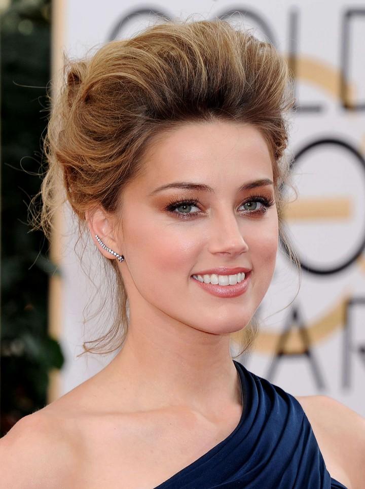 Amber Heard: Golden Globe 2014 Awards -23