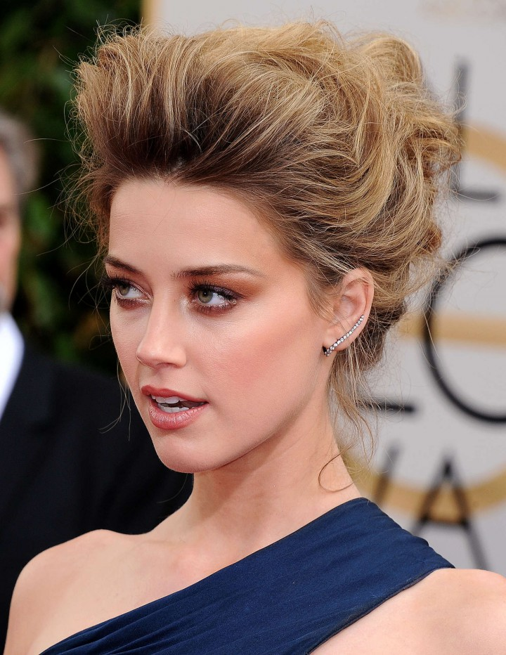 Amber Heard: Golden Globe 2014 Awards -24