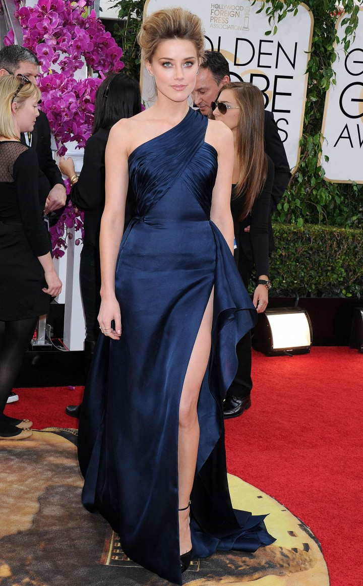 Amber Heard: Golden Globe 2014 Awards -27