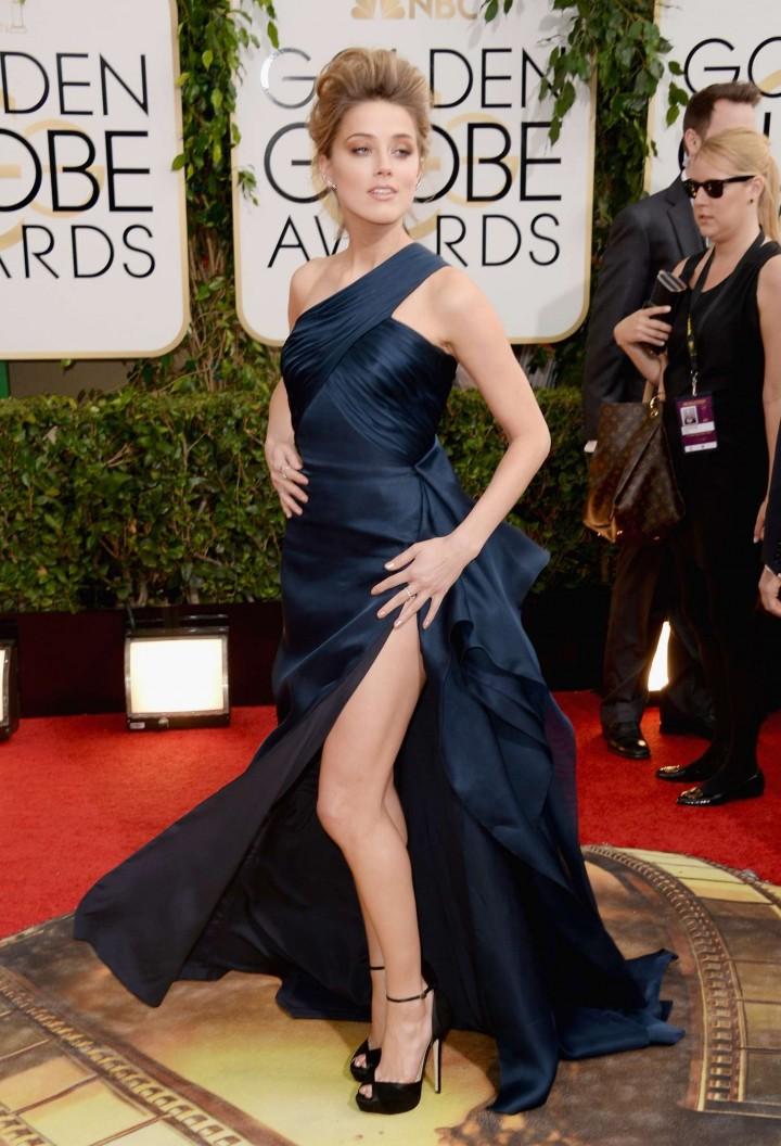 Amber Heard: Golden Globe 2014 Awards -28