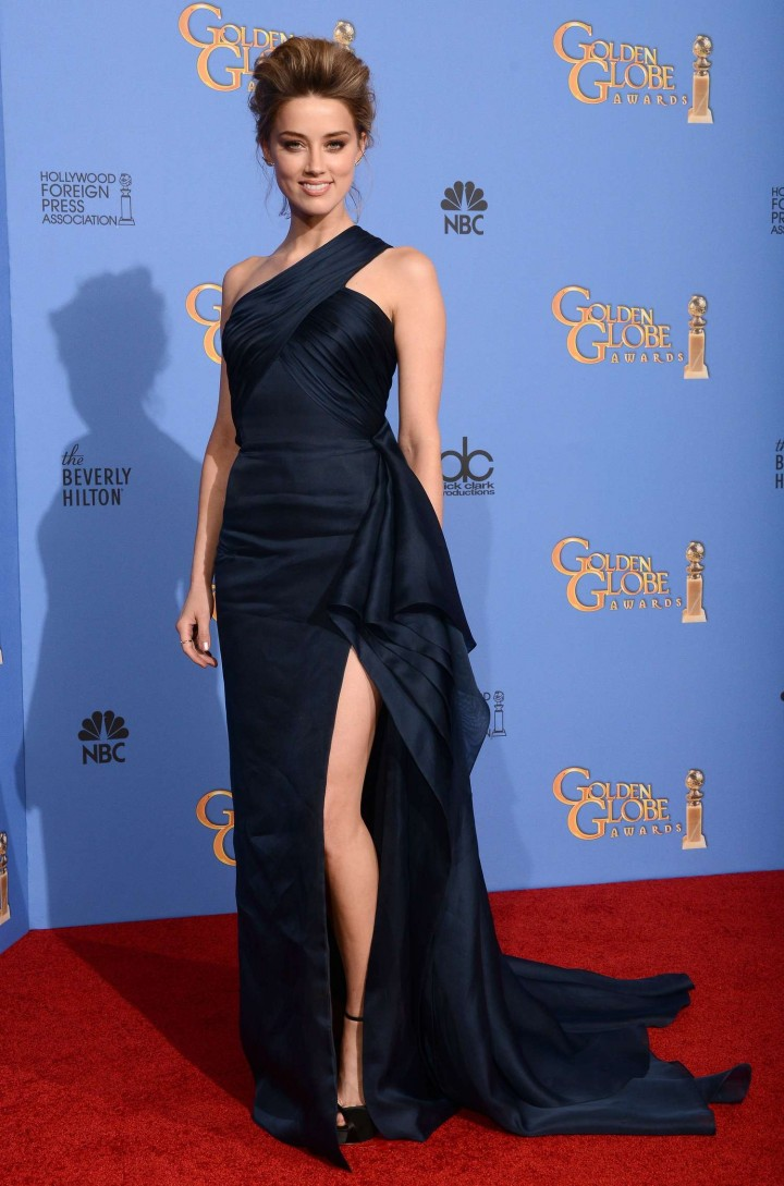 Amber Heard: Golden Globe 2014 Awards -30
