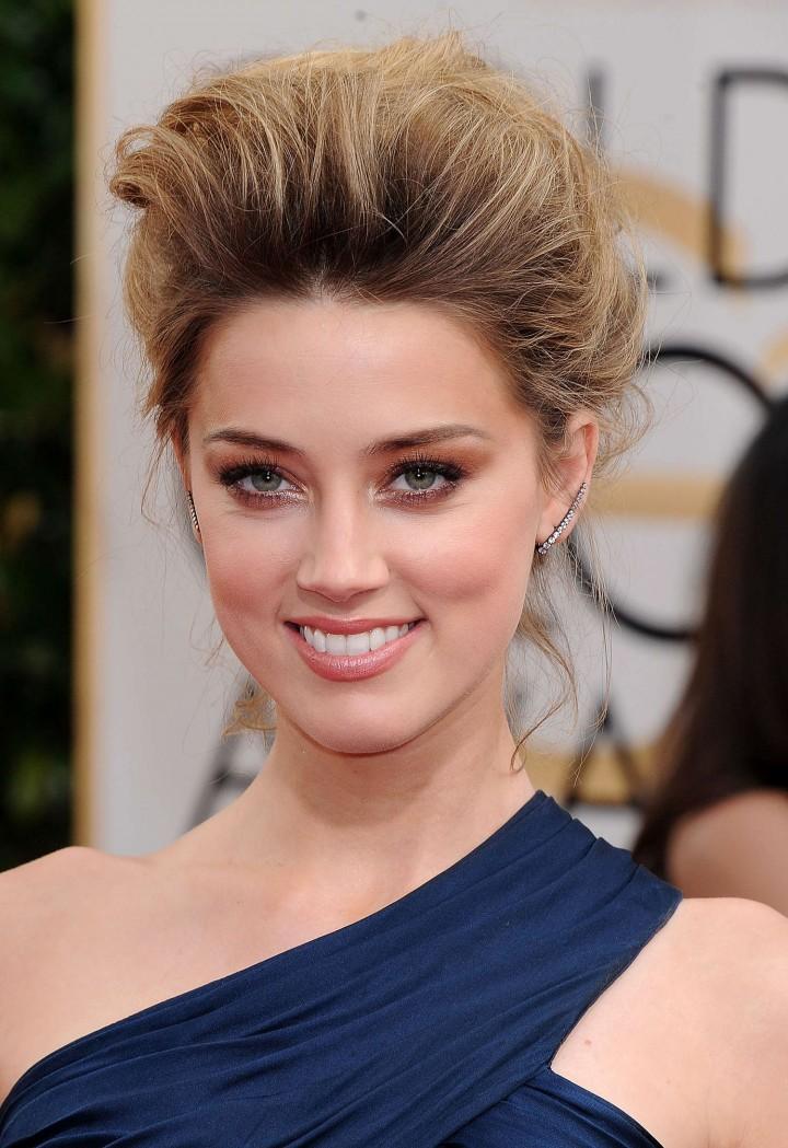 Amber Heard: Golden Globe 2014 Awards -31