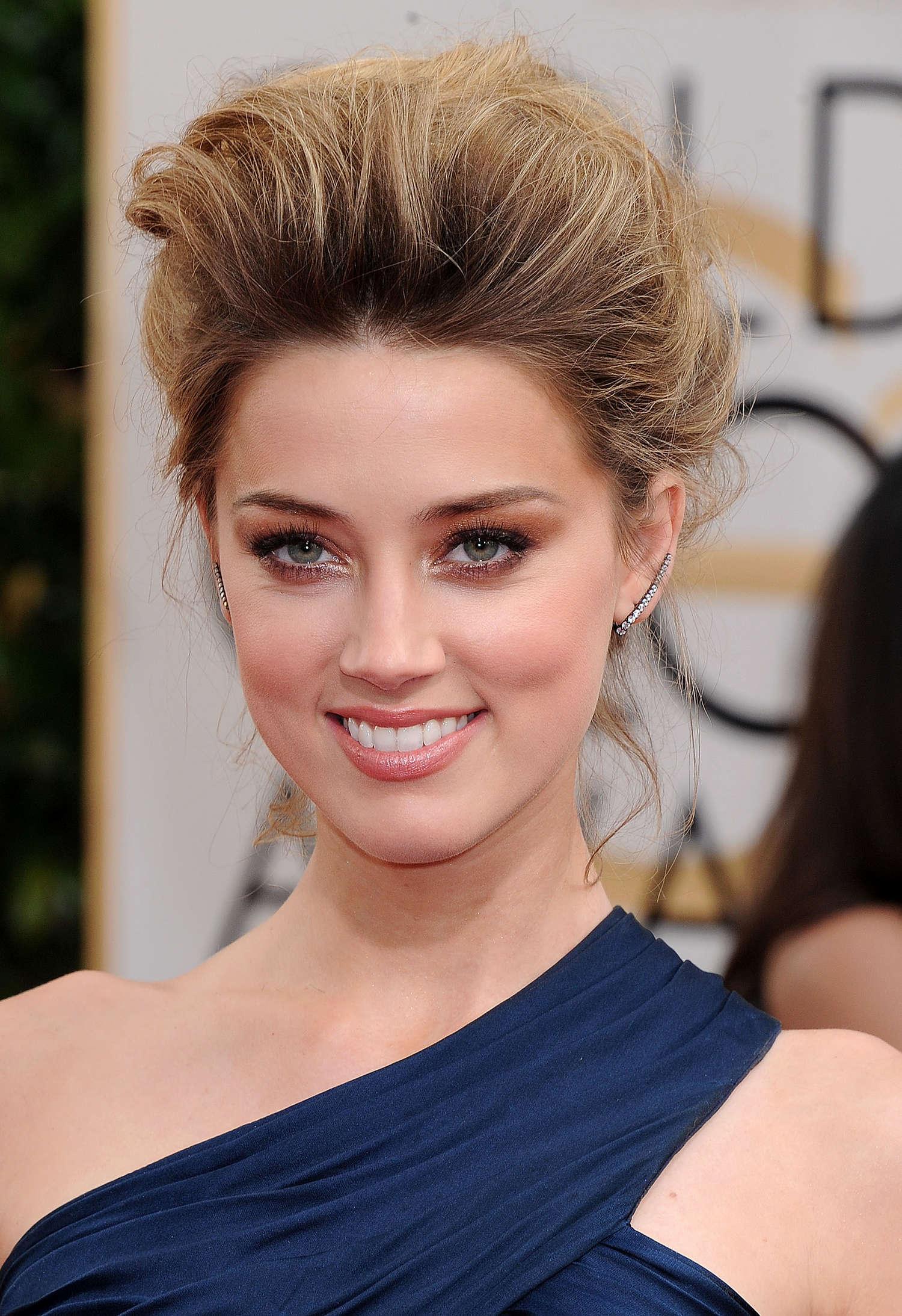 Amber Heard 2014 : Amber Heard: Golden Globe 2014 Awards -31