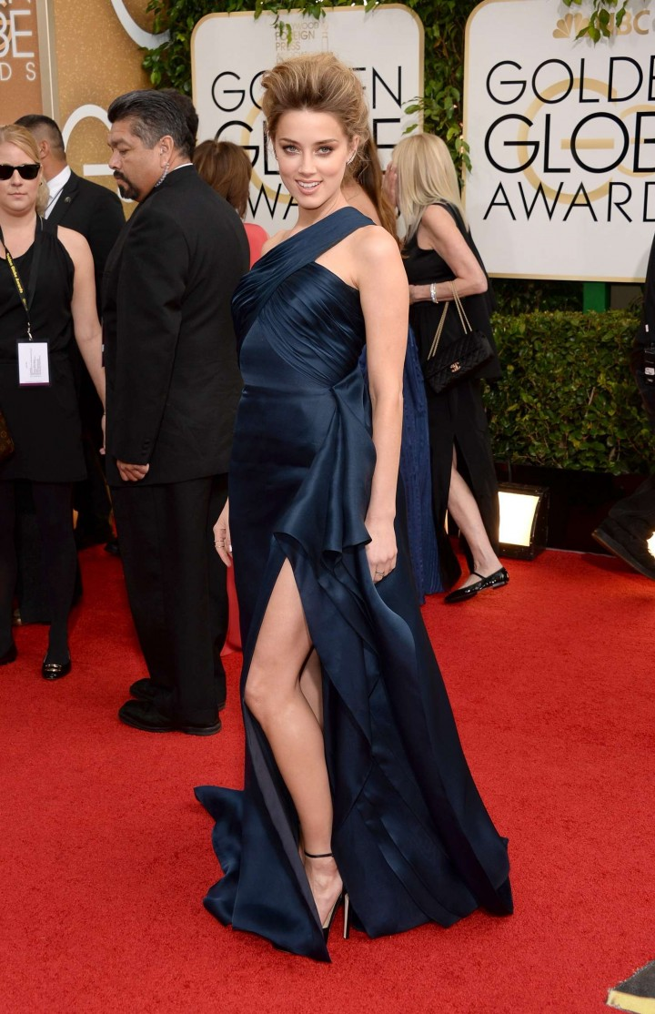 Amber Heard: Golden Globe 2014 Awards -32