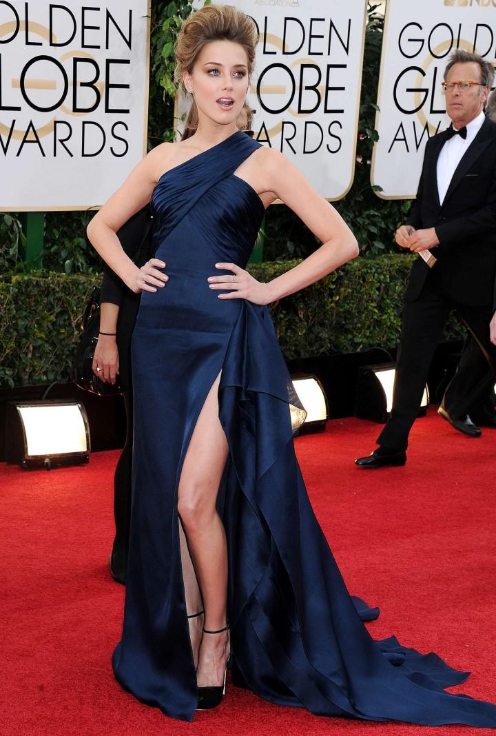 Amber Heard 2014 : Amber Heard: Golden Globe 2014 Awards -33