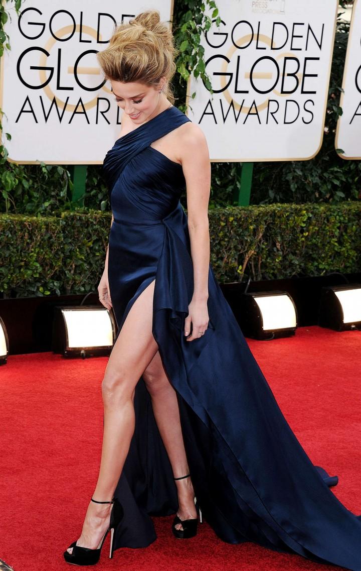 Amber Heard 2014 : Amber Heard: Golden Globe 2014 Awards -37