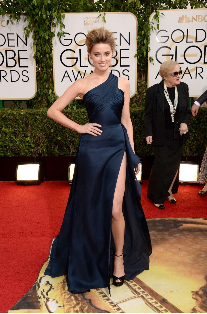 Amber Heard: Golden Globe 2014 Awards -38