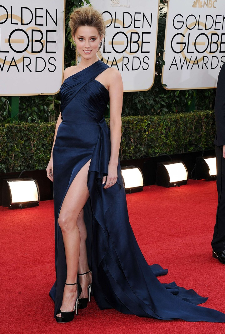 Amber Heard 2014 : Amber Heard: Golden Globe 2014 Awards -39