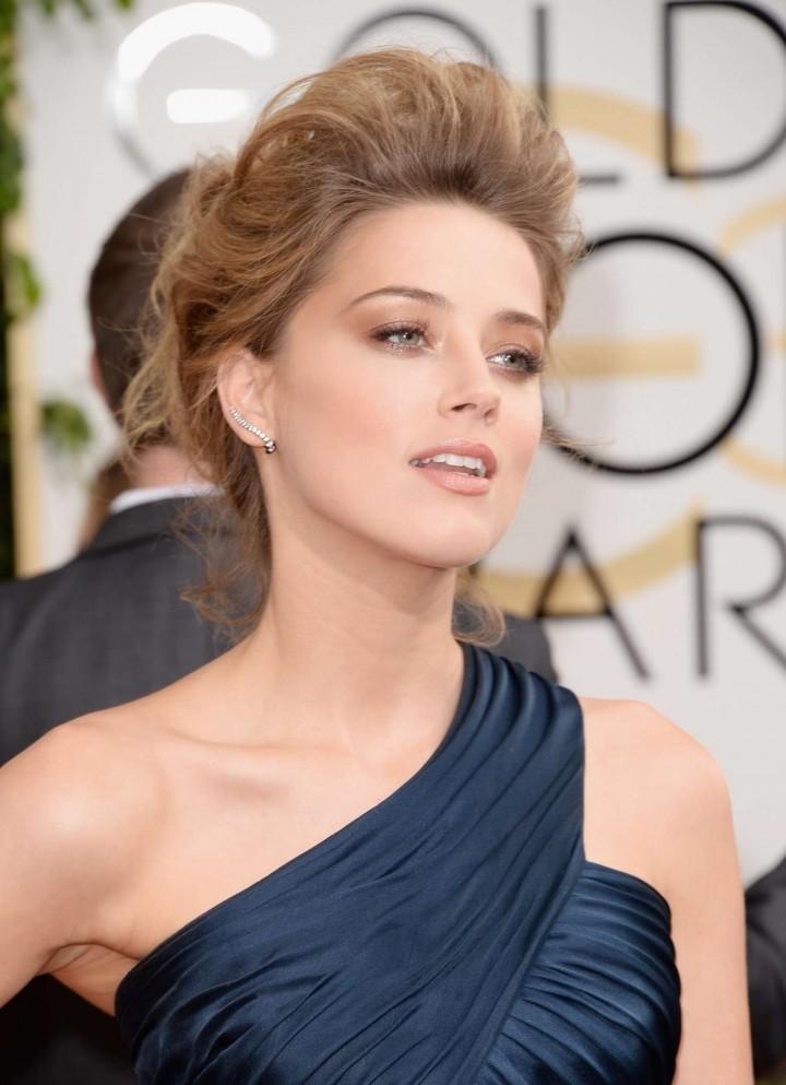 Amber Heard: Golden Globe 2014 Awards -41