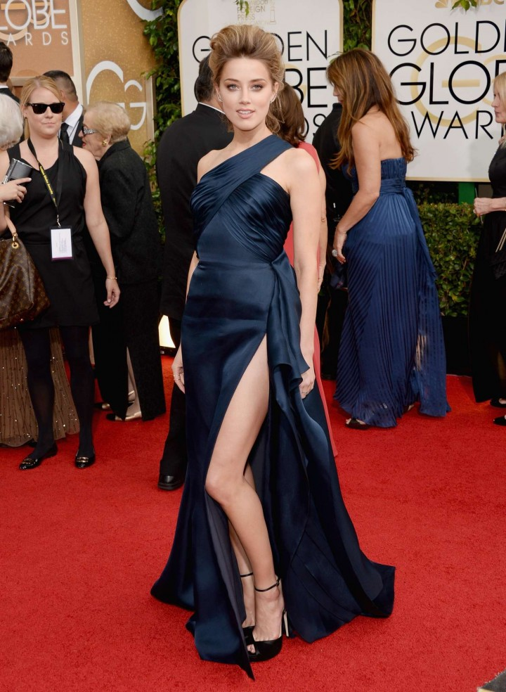 Amber Heard: Golden Globe 2014 Awards -42