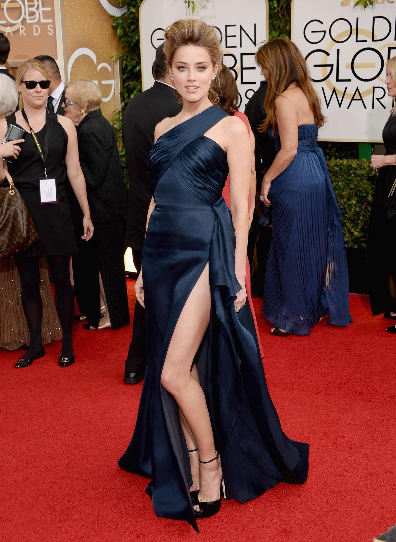 Amber Heard 2014 : Amber Heard: Golden Globe 2014 Awards -42