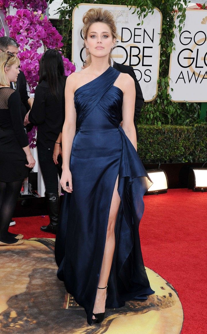 Amber Heard: Golden Globe 2014 Awards -43