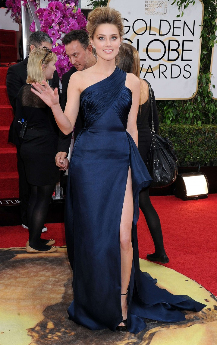 Amber Heard: Golden Globe 2014 Awards -45