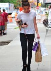 Amber Heard - around the Tribeca area of New York City-10
