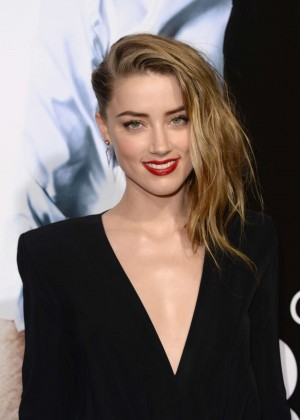 Amber Heard: 3 Days to Kill Hollywood Premiere -02