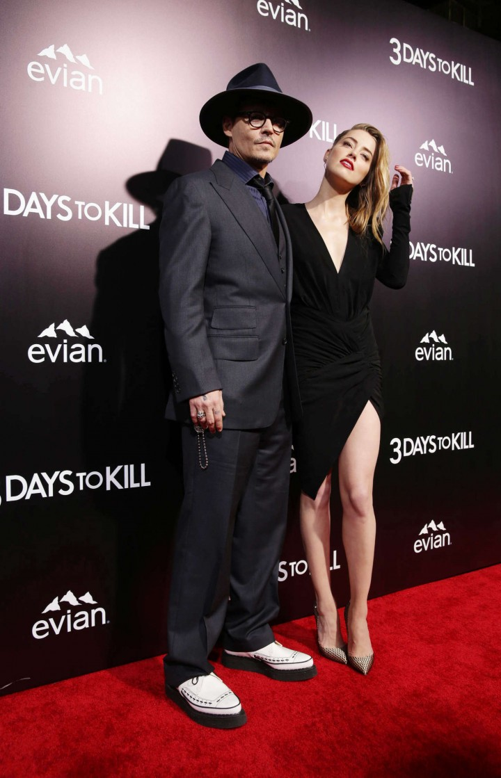 Amber Heard At 3 Days To Kill Hollywood Premiere Gotceleb