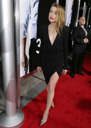 Amber Heard: 3 Days to Kill Hollywood Premiere -06