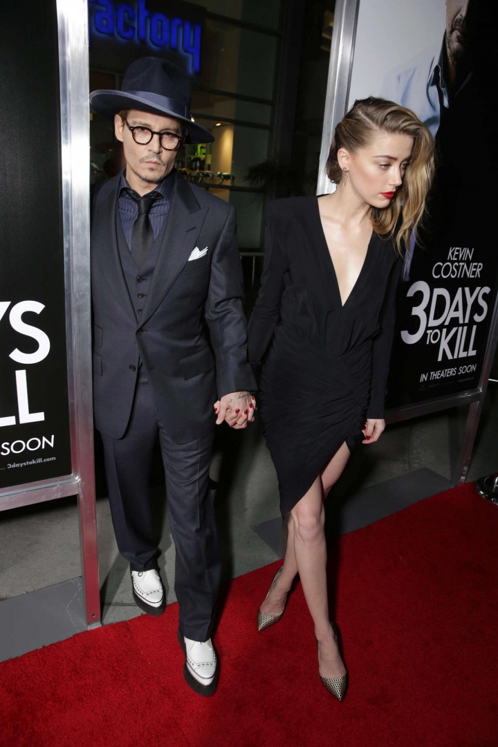 Amber Heard: 3 Days to Kill Hollywood Premiere -07