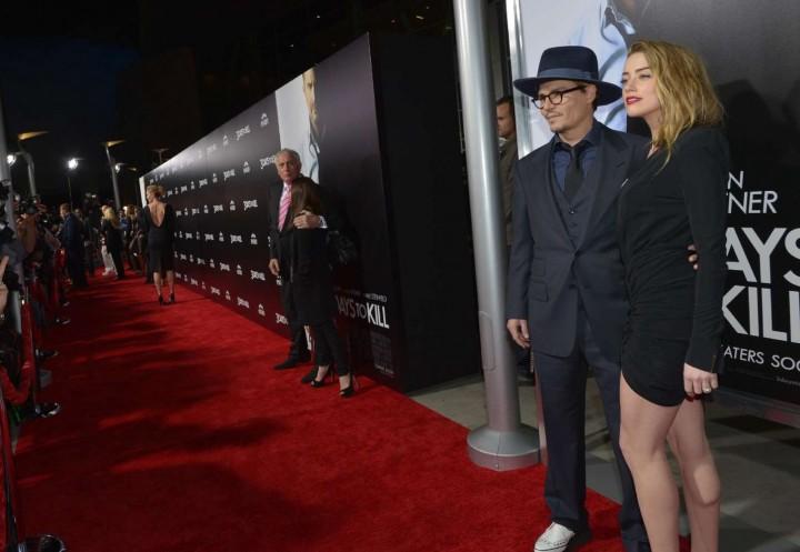 Amber Heard: 3 Days to Kill Hollywood Premiere -10