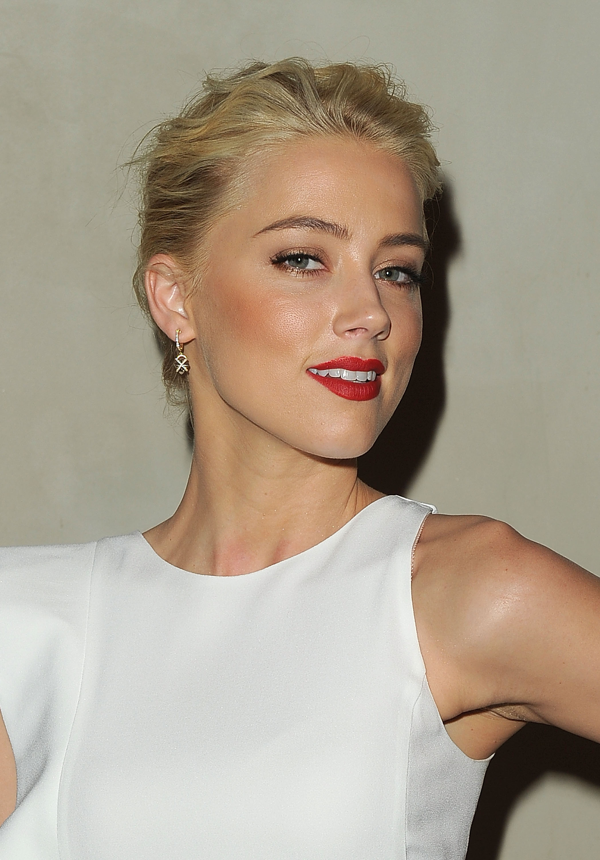 Amber Heard at Giorgio Armani and Vanity Fair Private ...