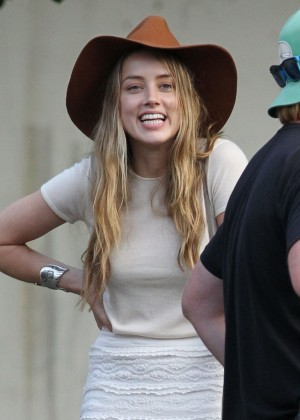 Amber Heard Filming 'Black Mass' Movie Set in Lynn, Massachusetts