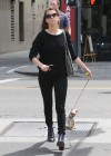 Amber Heard walking her dog in LA -10