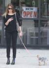 Amber Heard walking her dog in LA -14
