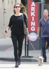 Amber Heard walking her dog in LA -15