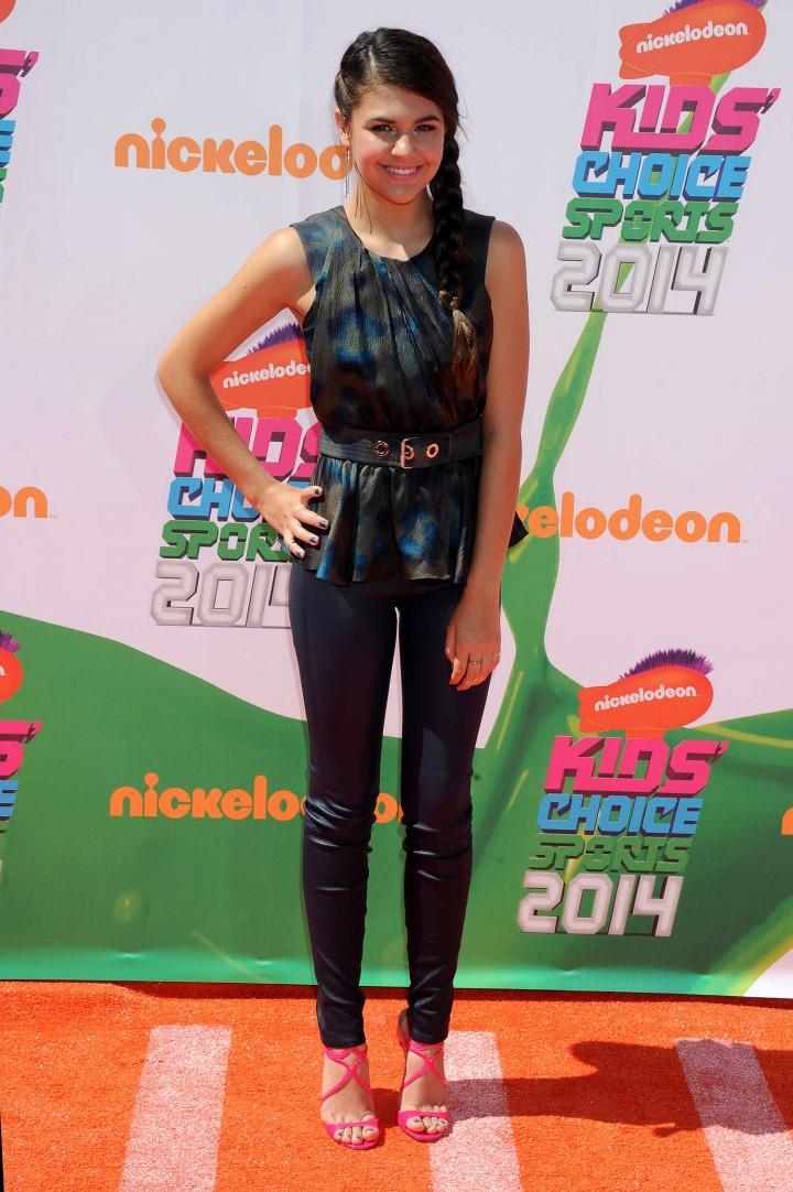 Amber Montana – 2014 Nickelodeon Kids' Choice Sports Awards in LA