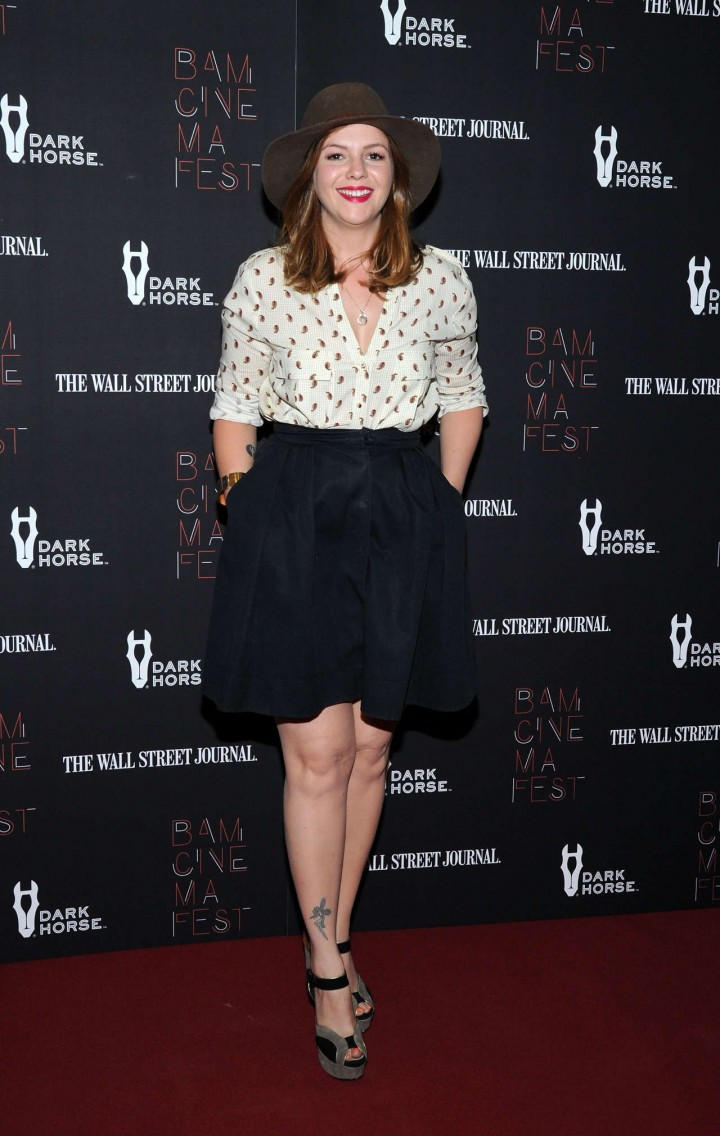 "Amber Tamblyn – ""Boyhood"" opening night screening in NYC"