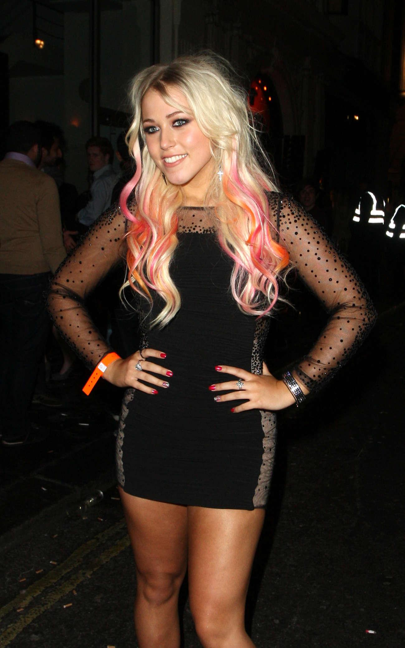 Amelia Lily at Mahiki nightclub in London-06 - Full Size