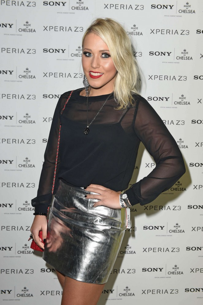 Amelia Lily - Sony Pool Party at the Haymarket Hotel in London