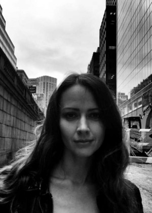 Amy Acker - Chris Fisher B&W Noir Photoshoot for Person of Interest Season 4