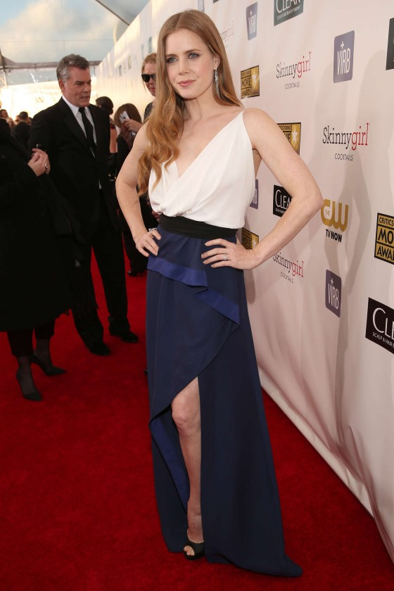 Amy Adams at 18th annual Critics Choice Movie Awards in Santa Monica, January 10, 2013