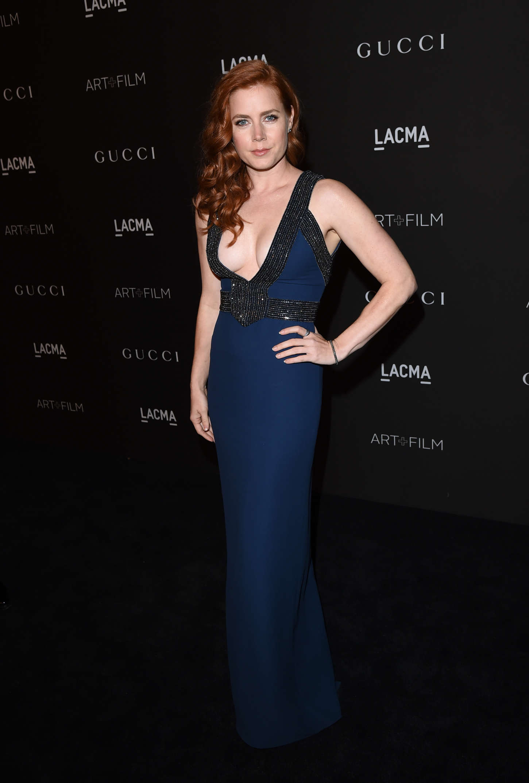 Amy Adamsn: LACMA Art and Film Gala 2014 -24 - GotCeleb
