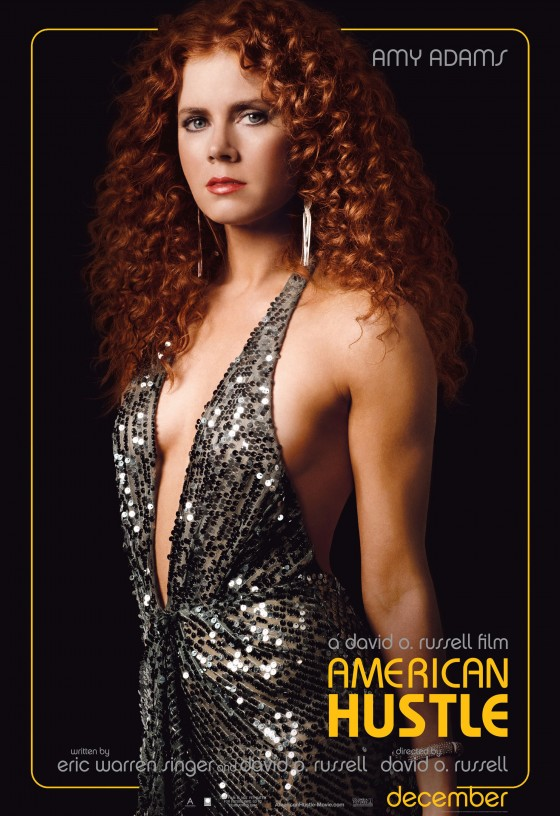 Amy Adams – American Hustle Poster -01